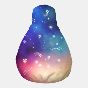 Thumbnail image of Sky with stars Pouf, Live Heroes