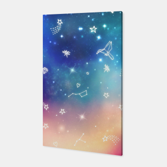Thumbnail image of Sky with stars Canvas, Live Heroes