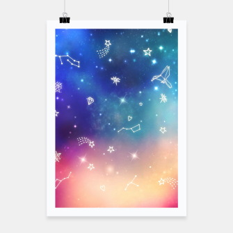 Thumbnail image of Sky with stars Poster, Live Heroes