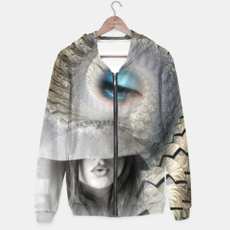 Thumbnail image of fashion surreal Hoodie, Live Heroes