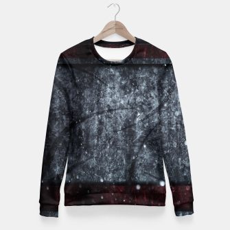 Thumbnail image of Texture Play Taillierte Sweatshirt, Live Heroes