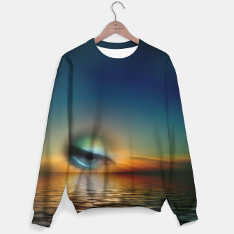 Thumbnail image of sundown surreal Sweater, Live Heroes