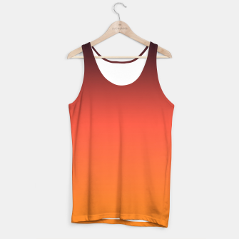 Thumbnail image of Ombre gradient orange brown colors Tank Top, Live Heroes