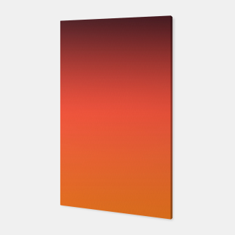 Thumbnail image of Ombre gradient orange brown colors Canvas, Live Heroes