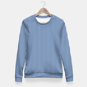 Miniaturka Trendy blue Stripes Fitted Waist Sweater, Live Heroes