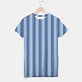 Miniaturka Trendy blue Stripes T-shirt, Live Heroes