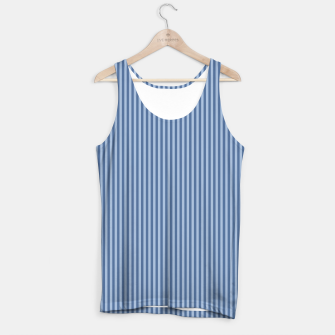 Miniaturka Trendy blue Stripes Tank Top, Live Heroes