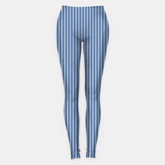 Miniaturka Trendy blue Stripes Leggings, Live Heroes