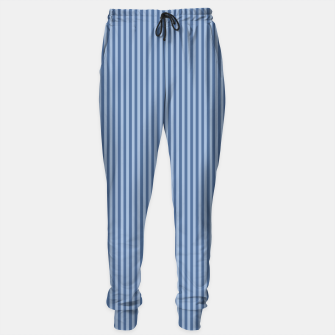 Miniaturka Trendy blue Stripes Sweatpants, Live Heroes