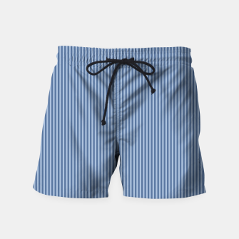 Miniaturka Trendy blue Stripes Swim Shorts, Live Heroes