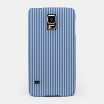 Miniaturka Trendy blue Stripes Samsung Case, Live Heroes