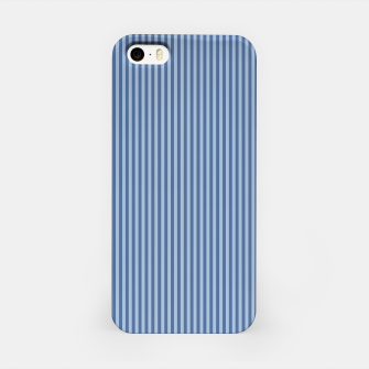 Miniaturka Trendy blue Stripes iPhone Case, Live Heroes