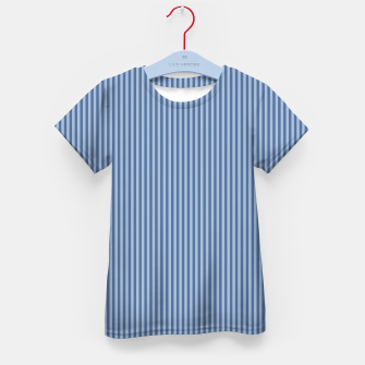 Miniaturka Trendy blue Stripes Kid's T-shirt, Live Heroes