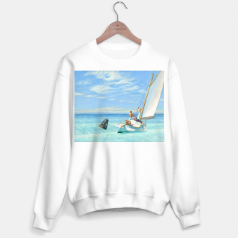 Miniatur Ground Swell Oil Painting by Edward Hopper Sweater regular, Live Heroes