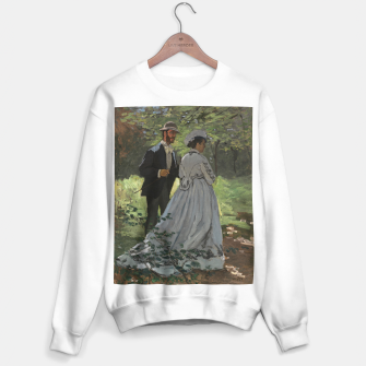 Miniatur Bazille and Camille painting by Claude Monet Sweater regular, Live Heroes