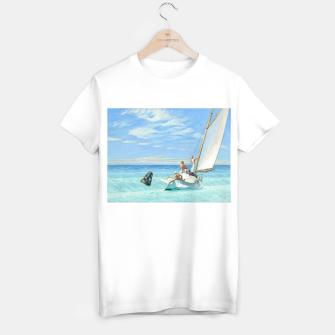 Miniatur Ground Swell Oil Painting by Edward Hopper T-shirt regular, Live Heroes