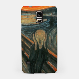 Miniatur Classic Art - The Scream  - Edvard Munch Samsung Case, Live Heroes