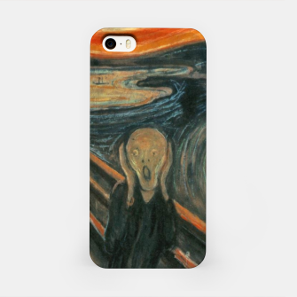 Miniatur Classic Art - The Scream  - Edvard Munch iPhone Case, Live Heroes