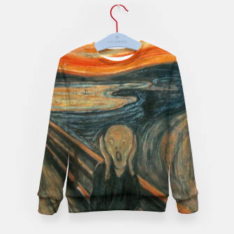 Miniatur Classic Art - The Scream  - Edvard Munch Kid's sweater, Live Heroes