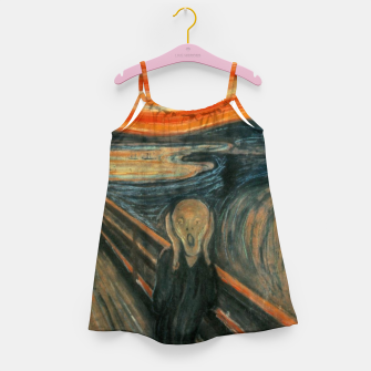 Miniatur Classic Art - The Scream  - Edvard Munch Girl's dress, Live Heroes