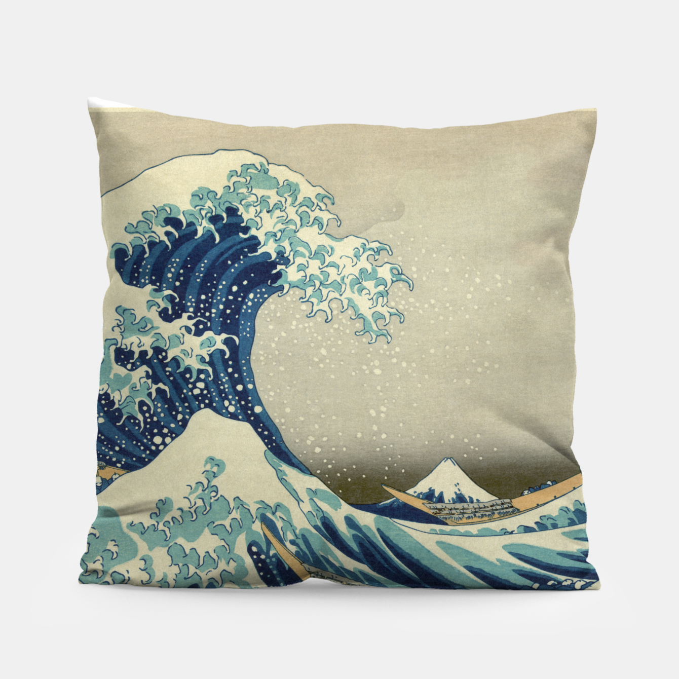 66c453015112a Image of The Classic Japanese Great Wave off Kanagawa by Hokusai Pillow -  Live Heroes