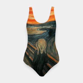 Miniatur Classic Art - The Scream  - Edvard Munch Swimsuit, Live Heroes