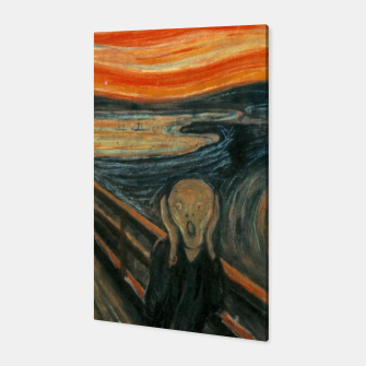 Miniatur Classic Art - The Scream  - Edvard Munch Canvas, Live Heroes