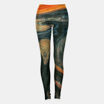 Miniatur Classic Art - The Scream  - Edvard Munch Leggings, Live Heroes