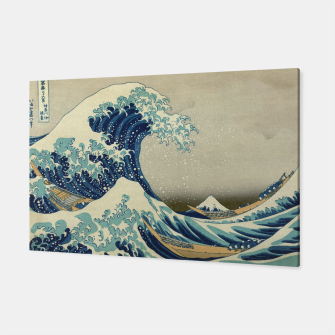 Thumbnail image of The Classic Japanese Great Wave off Kanagawa by Hokusai Canvas, Live Heroes