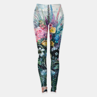 Thumbnail image of The Last Flowers Leggings, Live Heroes