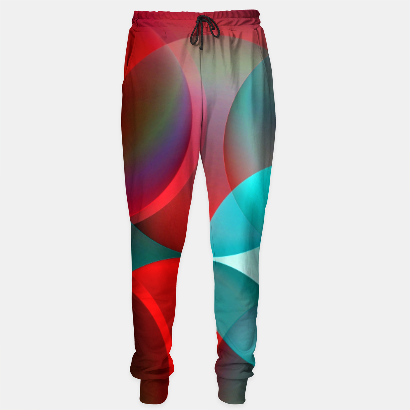 Image of round and full of color Sweatpants - Live Heroes