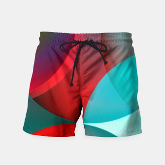 Thumbnail image of round and full of color Swim Shorts, Live Heroes