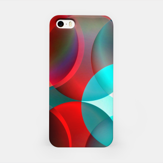round and full of color iPhone Case thumbnail image