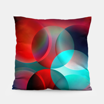 round and full of color Pillow thumbnail image