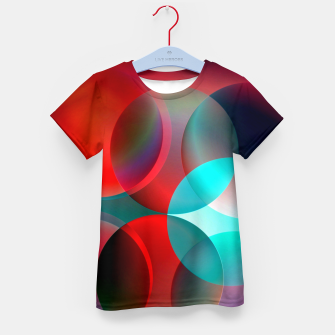 round and full of color Kid's T-shirt thumbnail image