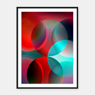 round and full of color Framed poster thumbnail image