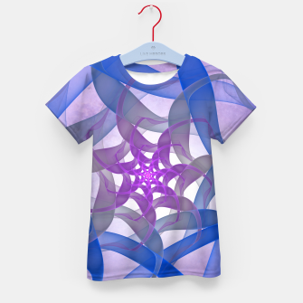 Thumbnail image of fractal star -1- Kid's T-shirt, Live Heroes