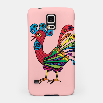 Thumbnail image of Decorative colored rooster Samsung Case, Live Heroes