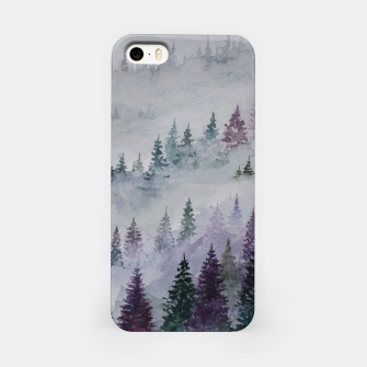 Thumbnail image of Purple Haze.Forest iPhone Case, Live Heroes