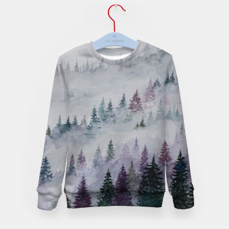 Thumbnail image of Purple Haze.Forest Kid's Sweater, Live Heroes
