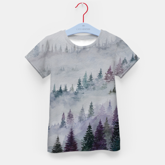 Thumbnail image of Purple Haze.Forest Kid's T-shirt, Live Heroes