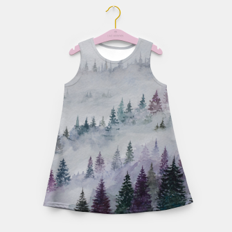Thumbnail image of Purple Haze.Forest Girl's Summer Dress, Live Heroes