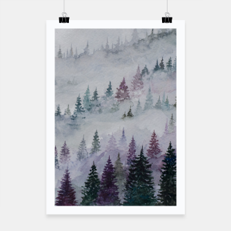 Thumbnail image of Purple Haze.Forest Poster, Live Heroes