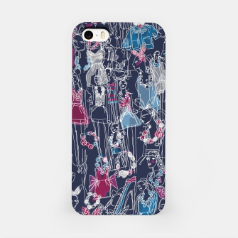 Thumbnail image of funny fashion girls pattern iPhone Case, Live Heroes