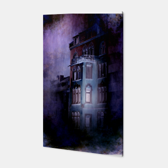 the haunted house Canvas thumbnail image