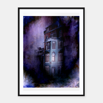 the haunted house Framed poster thumbnail image