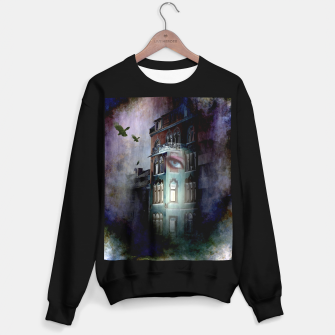 Thumbnail image of observers in the haunted house Sweater regular, Live Heroes