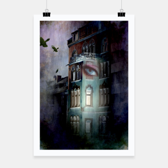 Thumbnail image of observers in the haunted house Poster, Live Heroes