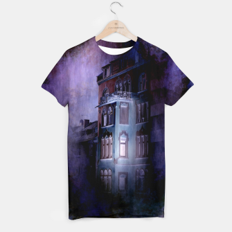 Thumbnail image of the haunted house T-shirt, Live Heroes