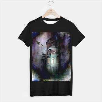 Thumbnail image of observers in the haunted house T-shirt regular, Live Heroes